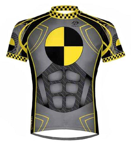 Buy Low Price Primal Wear Crash Test Dummy Cycling Jersey Men's Short Sleeve (B006B9PHLQ)