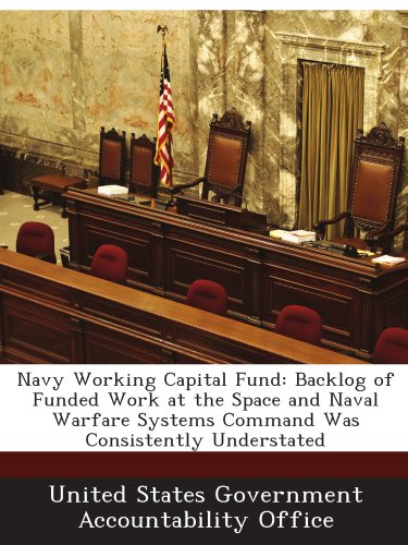 Navy Working Capital Fund: Backlog of Funded Work at the Space and Naval Warfare Systems Command Was Consistently Understated PDF