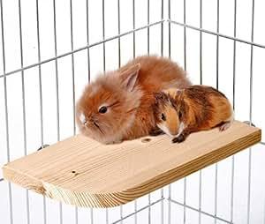 Karlie Holz-Sitzboard, Sitzbrett für Käfig von Kleintieren