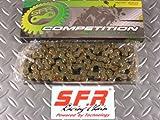 【NO820】SFR:レーシングチェーン 420-120L モンキー/ゴリラ/ダックス/Ape/カブなど汎用