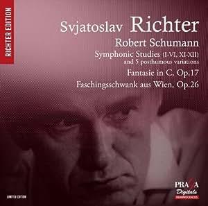 Schumann : Etudes symphoniques, Fantaisie op.17, Faschingsschwank aus Wien