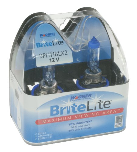 Wagner H11 BriteLite Replacement Bulb, (Pack of 2) (Wagner Brite Lite Headlights compare prices)