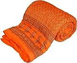 Ayushi Craft & Fashion Designer Printed Double Quilt