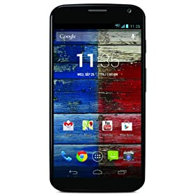 Motorola Moto X, Black 16GB (Verizon Wireless)
