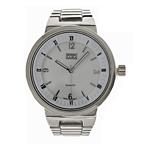 Mark Naimer Fashion Watch In Silver Color And Roman Numeral Dial