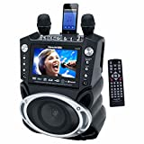 Karaoke USA DVD/CDG/MP3G Karaoke System with 7-Inch TFT Color Screen, Bluetooth and Recording Function SD Slot (GF830)