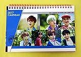 防弾少年団 BTS - 2017-2018 DESK CALENDAR + STICKER 卓上カレンダー [韓国盤]
