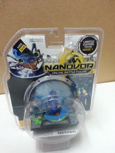 Nanovor Online Battle Figure Limited Edition Wave 1 Doom Blade