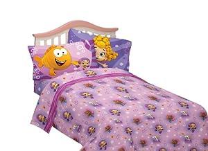Nickelodeon Bubble Fun Guppies Cotton Polyester Sheet Set Full Bubble Guppies