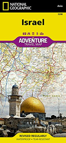Israel (National Geographic Adventure Map) [National Geographic Maps - Adventure] (Tapa Blanda)