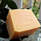 Soap (SPECIAL LARGE AGED) Handmade Florida - Citrus Sunshine with Mango Butter Soap (11 OZ.) Bar