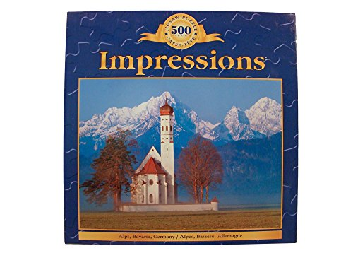 Impressions 500pc. Alps, Bavaria, Germany Puzzle