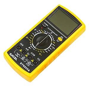 niceeshop(TM) 1 Set(2Pcs) LCD AC/DC Digital Multimeter Electronic Tester Meter Voltmeter DT 9205A With Bracket