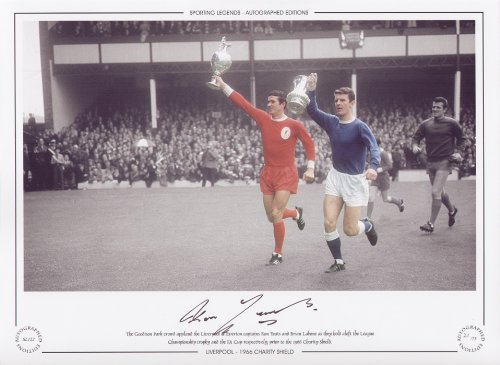 Liverpool Charity Shield 1966 - Ron Yeats Signed Limited Edition
