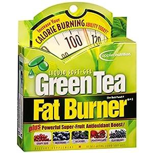 Green Tea Fat Burner Liquid Soft Gel 30ct