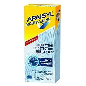 APAISYL detect lentes - gel + peigne 100ml