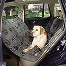 GG PawPrint Hammock Car Seat Cover Brn