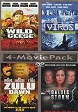 The Wild Geese, Virus (Director's Cut), Zulu Dawn, Baltic Storm, 4-Movie Pack