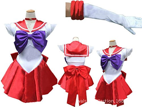 YKC Women's Many Styles Cosplay Japanese Anime Sailor Moon Dress