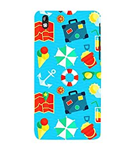 Sea Sailor Ship Travel 3D Hard Polycarbonate Designer Back Case Cover for HTC Desire 816::HTC Desire 816 G::HTC Desire 816D::HTC Desire 816G (Octa Core)