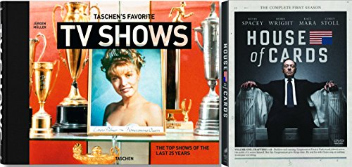 House of Cards: Season 1 DVD & TASCHEN's Favorite TV Shows: The top shows of the last 25 years Hardcover (Twin Peaks Dvd Collection compare prices)