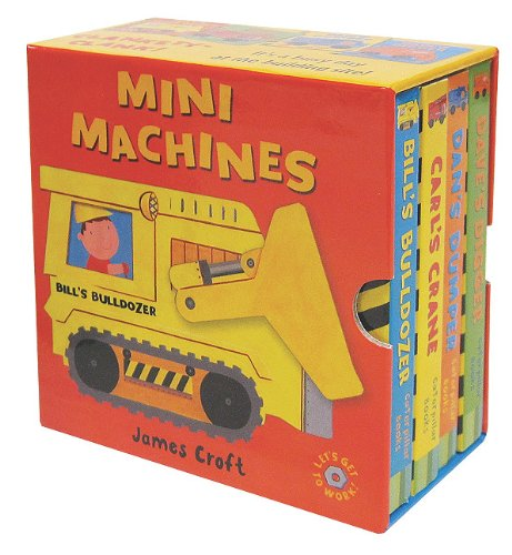 Mini Machines Mini Book Set, Croft, James
