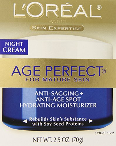 L'Oreal Paris discount duty free L'Oreal Paris Age Perfect Night Cream, 2.5 Fluid Ounce