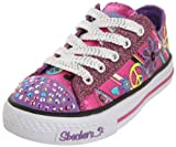 Twinkle Toes Jump N Joy Canvas Lace Up Trainers