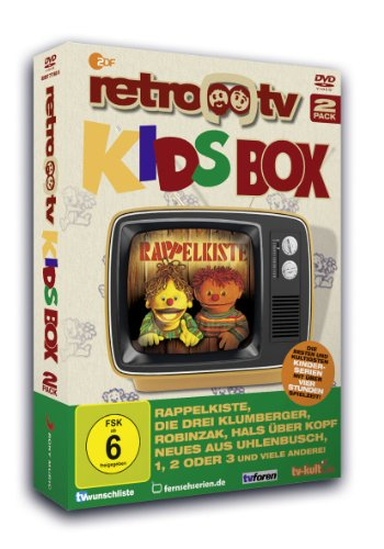 Retro TV Kids-Box (2 Discs)