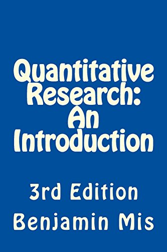 Quantitative Research: An Introduction
