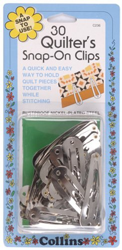 Quilter's Snap-On Clips by Collins