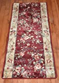Chelsea Garden Red Carpet Rug Hallway Runner 5'