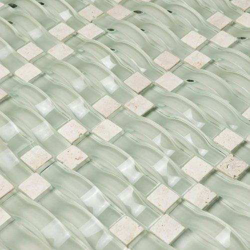 backsplash glass stone mosaic tile for bathroom kitchen