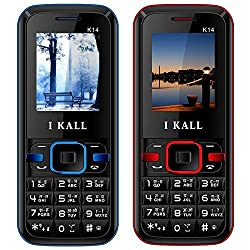 I KALL (K14Red+K14Blue) Set Of Two Mobile Combo