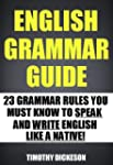 English Grammar Guide - 23 Grammar Ru...