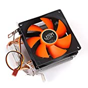 Amazon.in: Buy Generic CPU Cooler Fan Heatsink Quiet for Intel LGA775 LGA 1155/1156 AMD754/AM2 Online at Low Prices in India | Unknown Reviews & Ratings