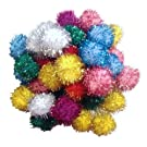 Sparkle Ball Cat Toy - 20 Pack - 1
