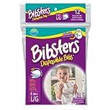 Neat Solutions(ニート・ソリューション) Bibsters マジックテープ式使い捨てエプロン ビブスター 12枚入 ランキングお取り寄せ