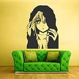 Wall Decal Mural Sticker Anime Manga Naruto Boy Kids Girl Nursery Final Fantasy Hero (Z1721) (Tamaño: Size are usually 22