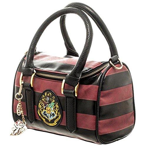 Ufficiale di Harry Potter Hogwarts Crest Mini Satchel e ciondolo portachiavi borsa a tracolla