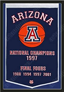 Dynasty Banner Of Arizona Wildcats-Framed Awesome & Beautiful-Must For A... by Art and More, Davenport, IA