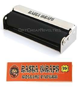 70mm Rasta Wraps Cigarette Roller #70250