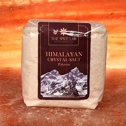 4.4 Pounds (2 - 1 Kilo bags) - Himalayan Crystal Bath Salt - Pink - Fast Dissolving ( Fine Grain )