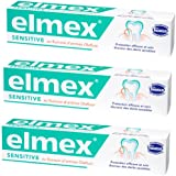 Elmex Dentifrice Sensitive 75 ml Lot de 3