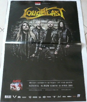 "Loudblast, 70 x 100 cm-Poster %2F Poster """