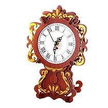 Classic Clock 1: Rosewood