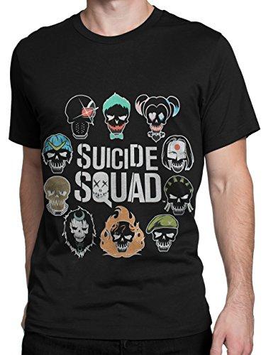 Suicide Squad - Maglietta a maniche corta per uomo - Small