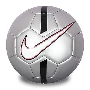Amazon.com : Nike Cr7 Prestige Soccer Ball Size 5 Silver/black