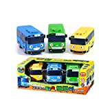 Little Bus Tayo Toy - Freinds Pik Pik 3 Pcs Tayo + Rogi + Rani