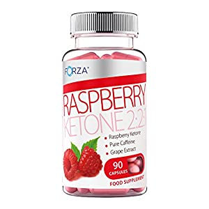 FORZA Raspberry Ketone 2:2:1 - Strong Diet Pills with Pure Raspberry Ketones - Natural Slimming Pills for Fast Weight Loss